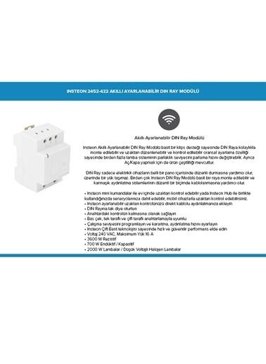Insteon 2452-422 Akıllı Ayarlanabilir Dın Ray Modülü Renkli